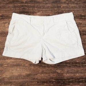 Athleta Corduroy White Shorts Women's Size 8